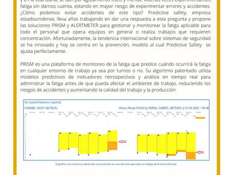 Gestión de Fatiga con Predictive Safety