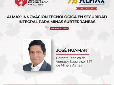 """Conferencia: """"Innovación Tecnológica en Seguridad integral para Minería Subterránea"""""""