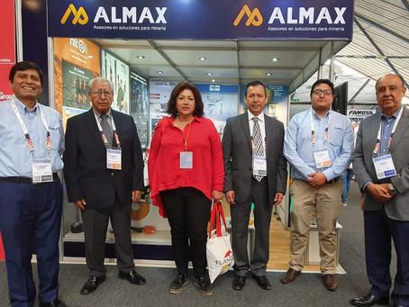 Almax agradece la presencia de Las Bambas en su stand de EXTEMIN 2019