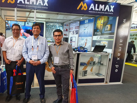 Almax agradece la visita de Mina Minsur en su stand de EXTEMIN 2019