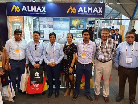 Almax agradece la visita de Ares a su stand en EXTEMIN 2019