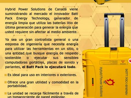 Batt Pack Energy 2021