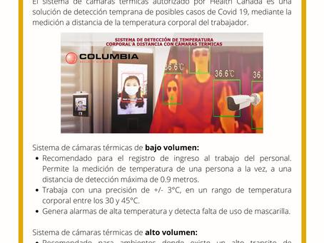 Sistema de detección de temperatura corporal a distancia