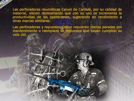 Perforadoras Neumáticas marca CANUN