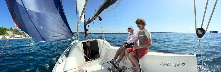 First 18 cruising in Croatia