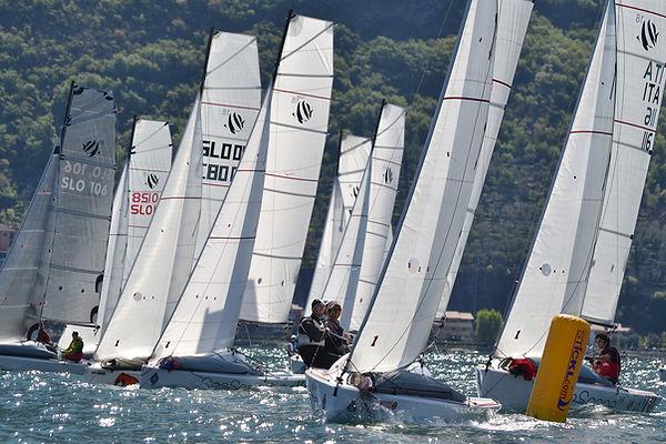 First 18 One-Design Lake Garda