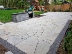 Custom Patio and Beds