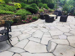 Irregular Stone Patio