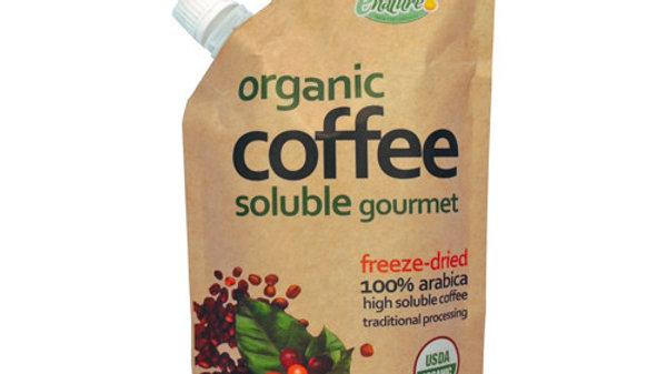 Café Orgánico Soluble Liofilizado sabor Natural 100g