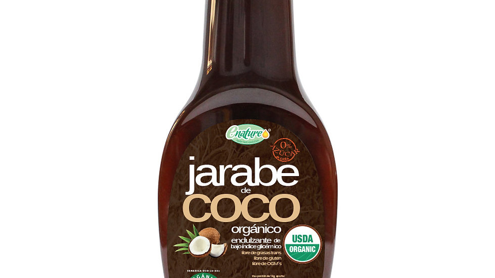 Jarabe de Coco Orgánico 330g