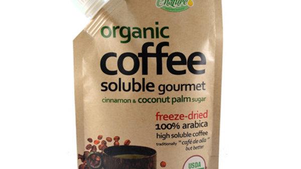 Café Orgánico Soluble Liofilizado sabor de Olla 100g