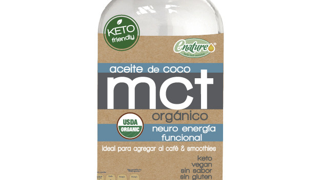 Aceite de Coco MCT Orgánico 500ml