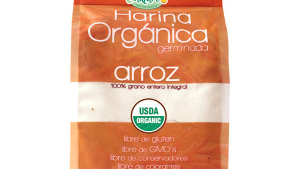 Harina Orgánica Germinada de Arroz 907g