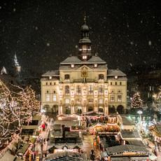 Weihnachtsstadt Lüneburg Rathaus