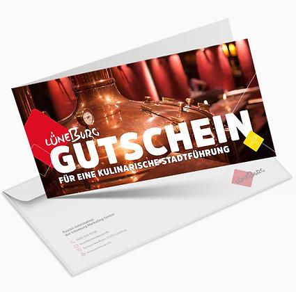 """Gutschein """"Lüneburg mit allen Sinnen genießen..."""""""