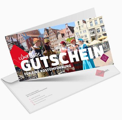 """Gutschein """"Aus der Blütezeit der Salz- und Hansestadt"""""""