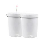 25L Fermenter and Bottling Buckets
