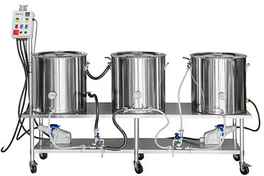 Stainless Steel Brew Table with Control Arm