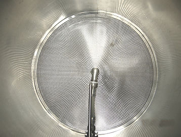 Stainless Steel False Bottom and Pick Up Tube