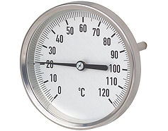 Dial Thermometers on All Vessels