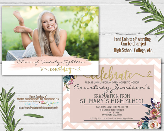 Graduation Invitations - Custom Affordable