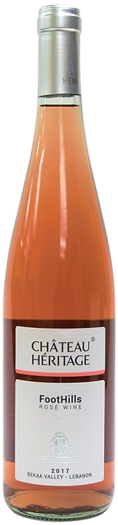 CHÂTEAU HERITAGE | FOOTHILLS DRY ROSÉ