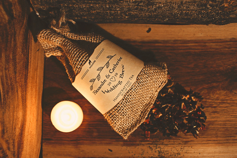 Custom Wedding Gift/Favour - Wolfdor's Medieval Looseleaf Tea