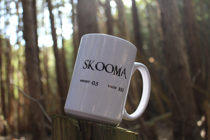 Skooma Mug and Tea Bundle - Skyrim Collection
