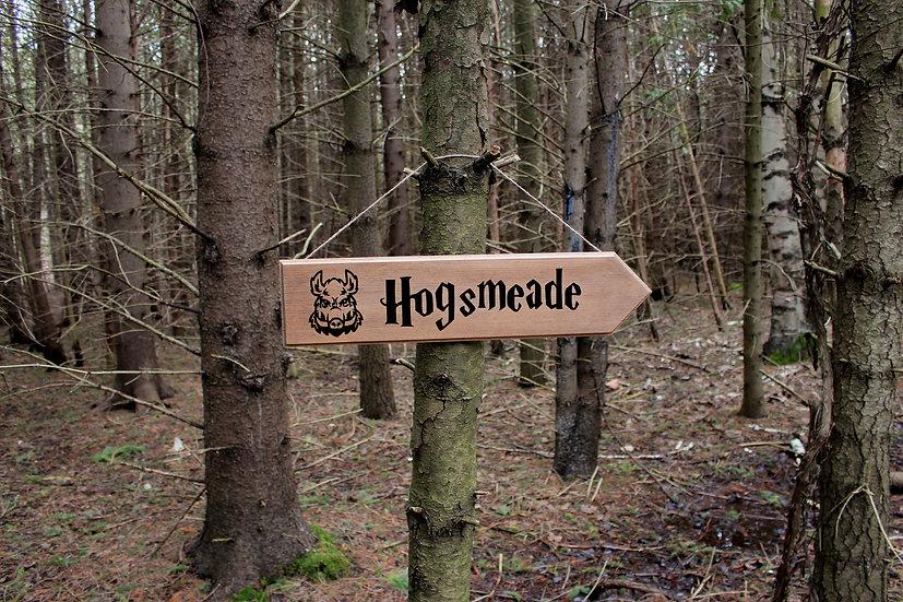 Hogsmeade - Street Sign - Harry Potter Decor