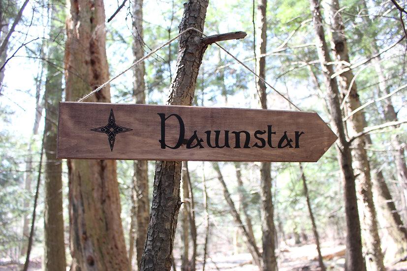 Dawnstar - Street Sign Decor