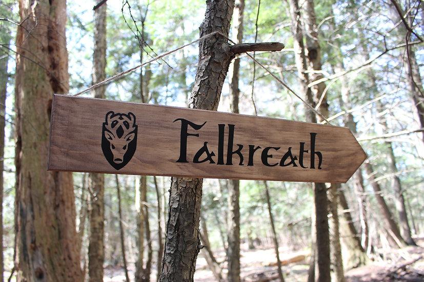Falkreath - Street Sign Decor