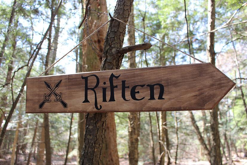 Riften - Street Sign Decor