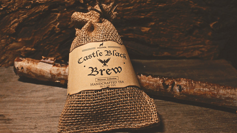 Castle Black Brew - Looseleaf Tea