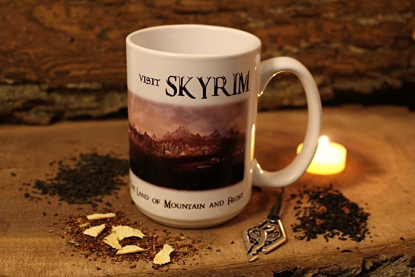 Skyrim Mug Collection - Looseleaf Tea and Mug