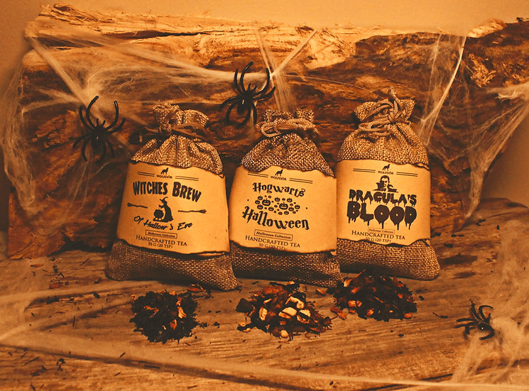 Halloween Collection - Triple Pack - Halloween Looseleaf Tea