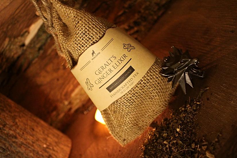 Geralt's Ginger Elixir - Ginger Lemon Tea