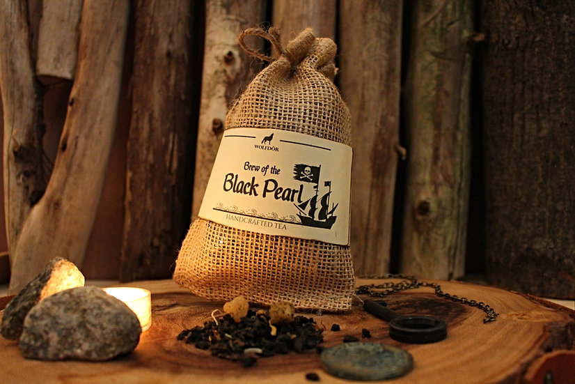 Brew of the Black Pearl - Mango Coconut Oolong Tea