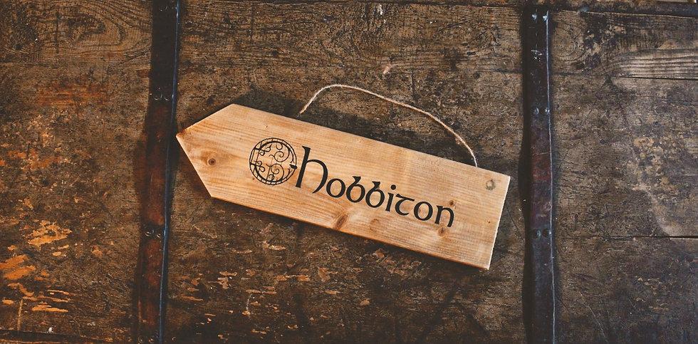 Hobbiton - Street Sign - LOTR Decor