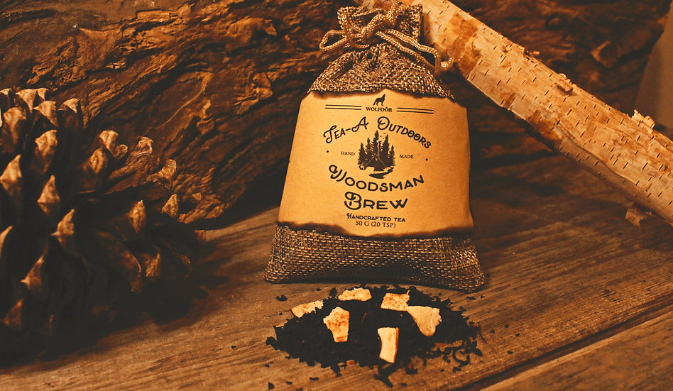 Woodsman Brew - Tea A Outdoors Looseleaf Tea