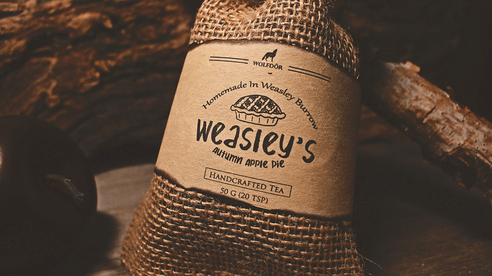 Weasley's Autumn Apple Pie - Cinnamon Maple Apple Earl Grey Tea