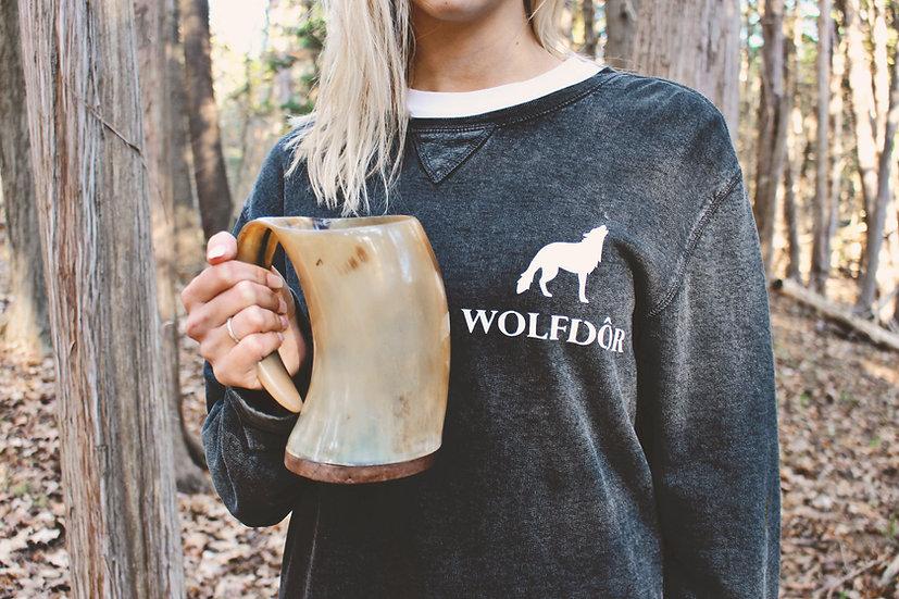 Viking Horn Mug - Tankard and Tea Set