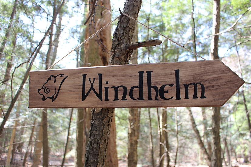 Windhelm - Street Sign Decor