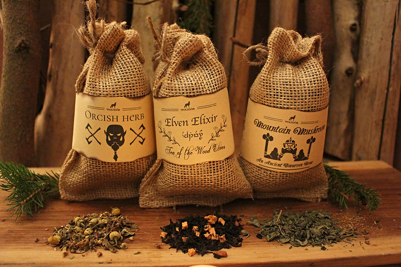 Fantasy Collection - Orcish, Elven and Dwarven Tea