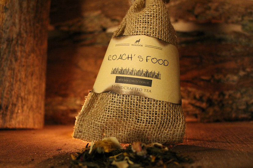 Roach's Food - Pomegranate Lavender Green Tea
