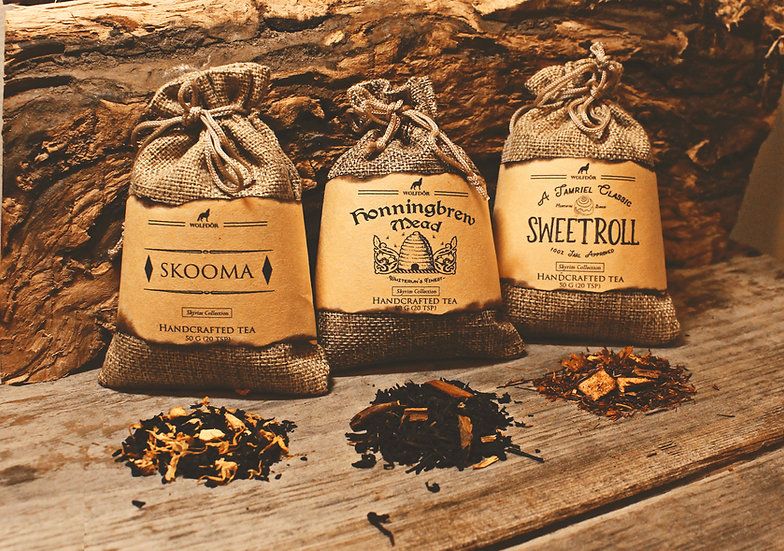Skyrim Collection - Looseleaf Tea Pack