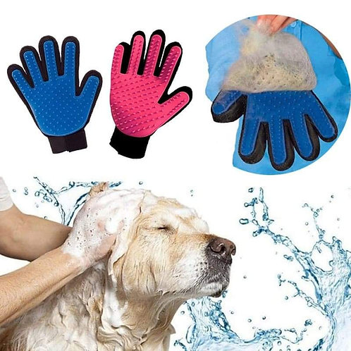 Pet Grooming Hair Remover Gloves