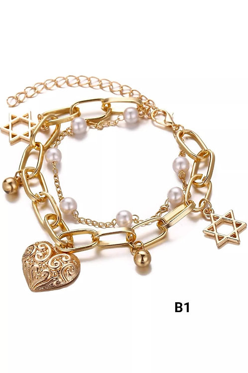 Vintage Pearl Bracelet for Women