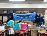 West-Put Provides Coats for Kids