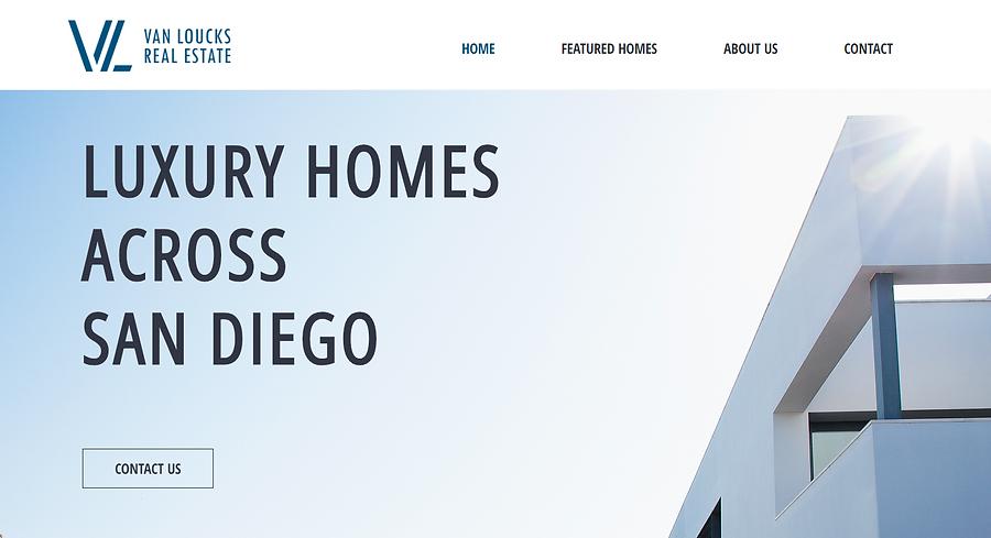 Real Estate Agency Website Design
