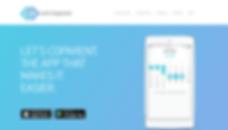 Mobile App Company Website Design